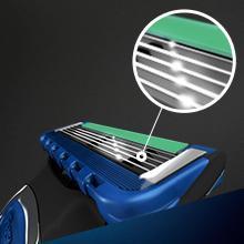 Gillette Fusion Power ProGlide Styler zasilany baterią 3-in1 Shaver