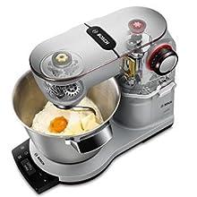 Amazon.de: Bosch MUM9AX5S00 OptiMUM Küchenmaschine (1500 W