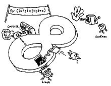 Java Karikatur