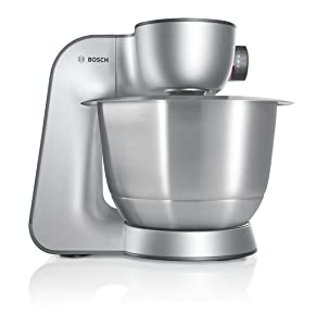 Amazon.de: Bosch MUM56340 Küchenmaschine Styline MUM5 (900 Watt ...
