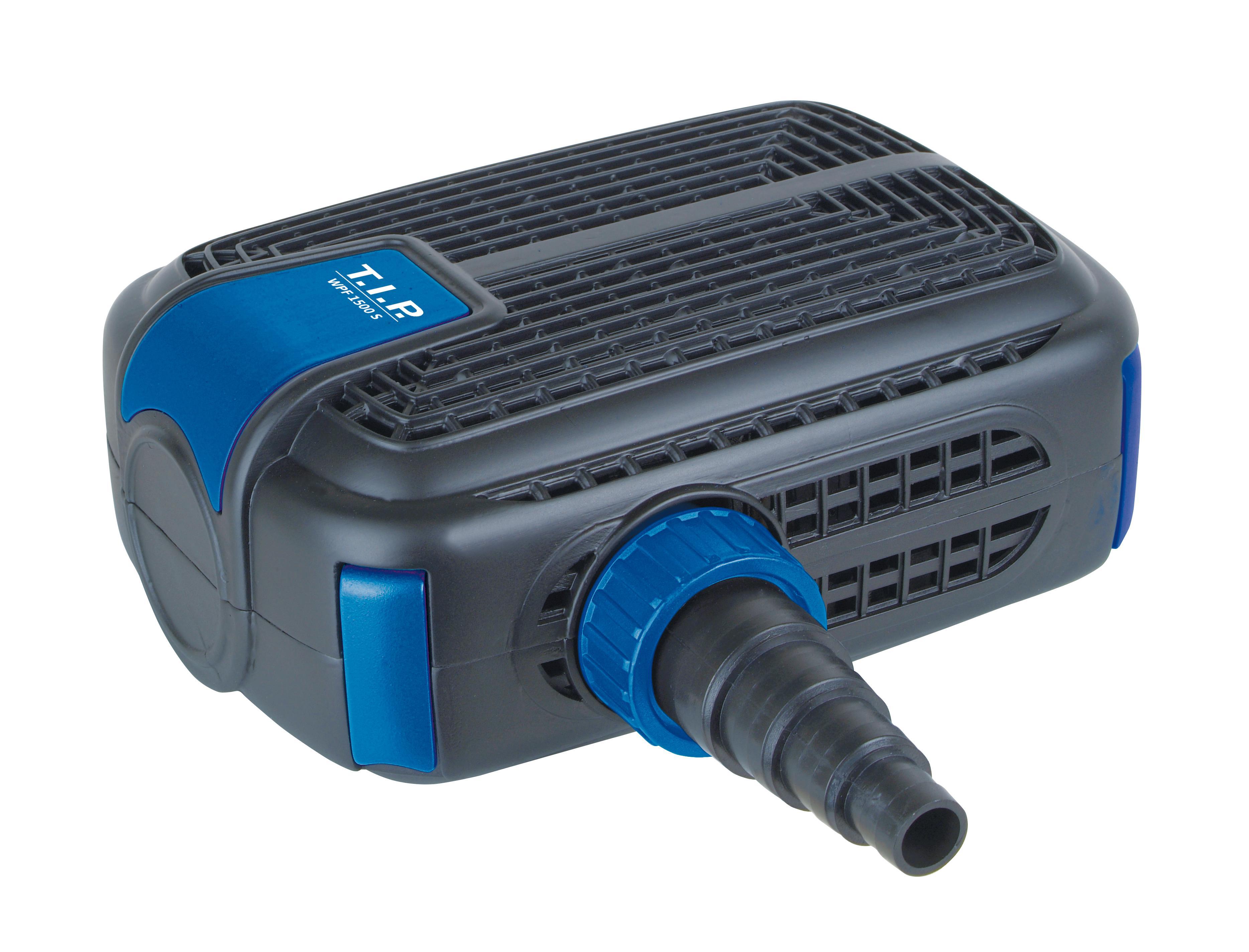Sehr T.I.P. Multifunktions-Teichpumpe Wasserspiel Filter Bachlauf WPF DV76