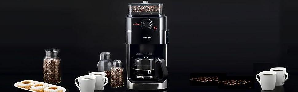 philips hd7761 00 grind brew kaffeemaschine. Black Bedroom Furniture Sets. Home Design Ideas