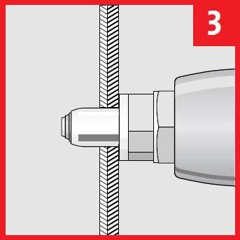 novus s9 stahl blindnietmutter mit m6 gewinde und 15 mm. Black Bedroom Furniture Sets. Home Design Ideas