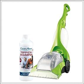 So einfach, so sauber, so professionell: Reinigen Sie Ihre Teppiche als würden Sie Staubsaugen!