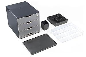 durable 338858 coffee point bin tischabfallbeh lter tischm lleimer f r kaffeekapseln teebeutel. Black Bedroom Furniture Sets. Home Design Ideas