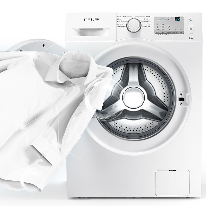 samsung ww80j6400cweg waschmaschine a frontlader. Black Bedroom Furniture Sets. Home Design Ideas