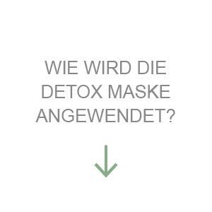 Wie wird die Detox Maske angewendet?
