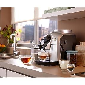neu ovp philips saeco hd8652 91 mit milchaufsch umer kaffeevollautomat garantie ebay. Black Bedroom Furniture Sets. Home Design Ideas