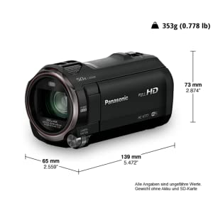 Camcorder HC-V777 Full HD
