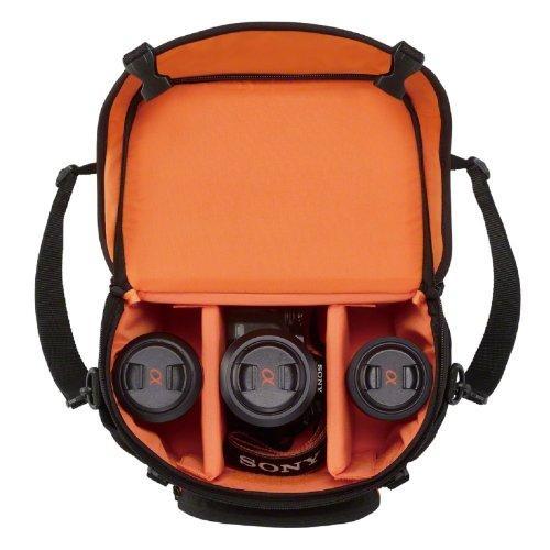 Sony LCS SC8 Gepolsterte Tasche Fur DSLR Kamera Amazonde