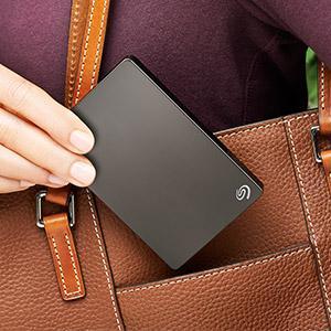 Seagate Portable Festplatte Backup Plus Slim
