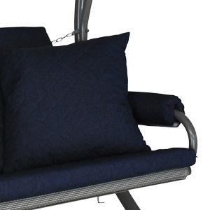 Schaukelauflage 3-Sitzer Elegance Joy Design Joy marineblau