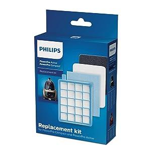 1 Hepafilter  geeig für Philips FC 9165//01 20 Staubsaugerbeutel