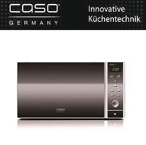 caso mcg30 chef design mikrowelle 3in1 mit neuer hei lufttechnik f r ein besseres backergebnis. Black Bedroom Furniture Sets. Home Design Ideas