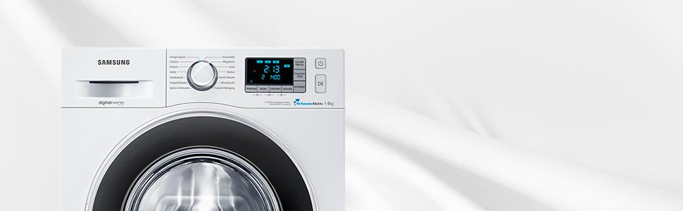 samsung wf80f5eb waschmaschine frontlader a 1400 upm 8 kg wei smart check. Black Bedroom Furniture Sets. Home Design Ideas
