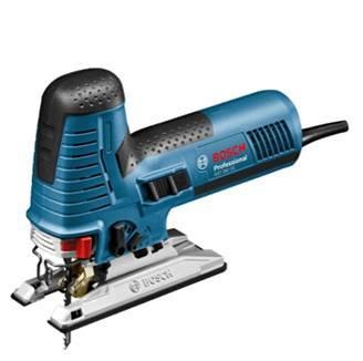 Bosch Professional Stichs/äge GST 160 CE 3x S/ägeblatt, Spanrei/ßschutz, Staubabsaugungs-Set, L-BOXX, Schnitttiefe in Holz: 160 mm, 800 Watt