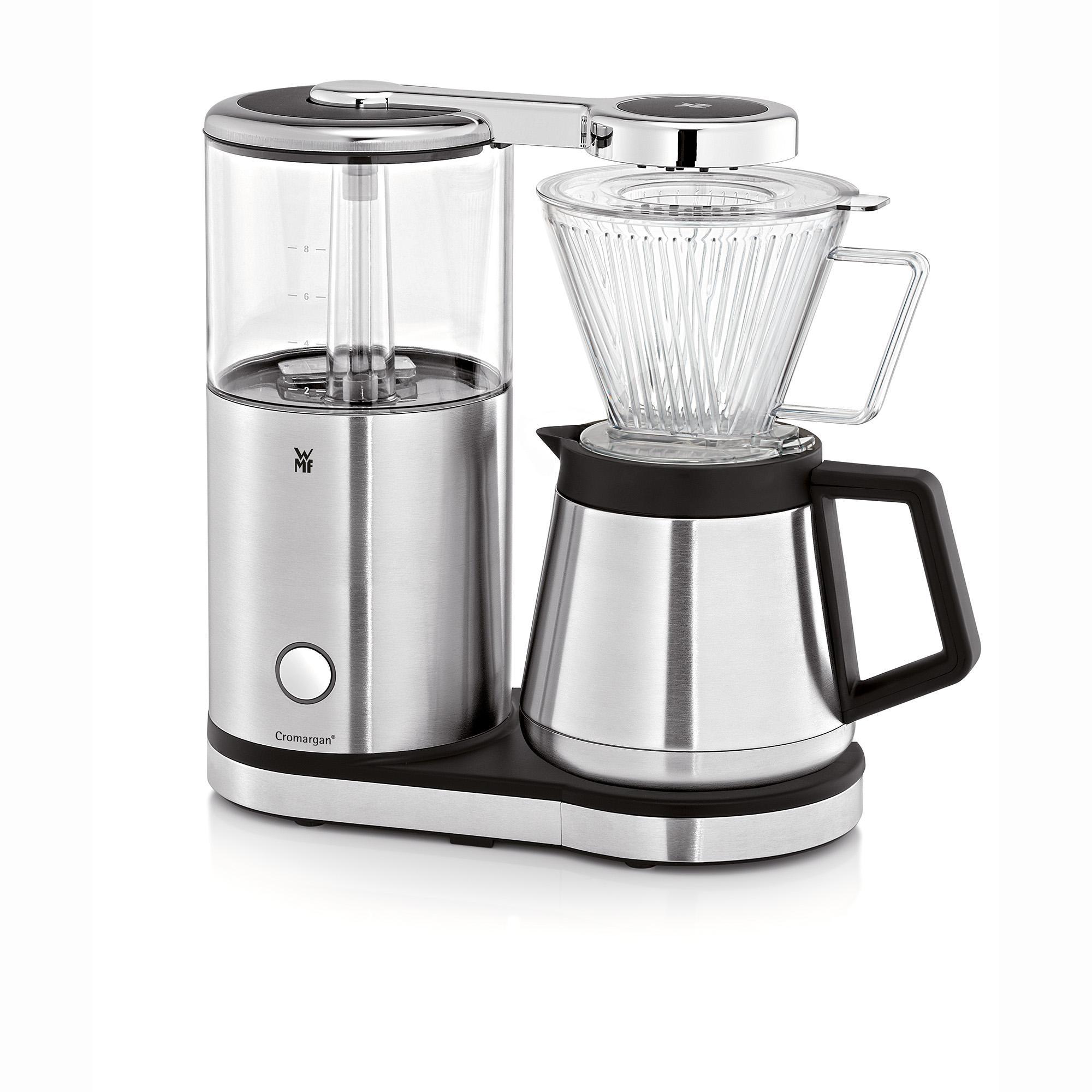 wmf aromamaster kaffeemaschine mit thermoskanne filterkaffee 10 tassen tropfstopp. Black Bedroom Furniture Sets. Home Design Ideas