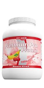 Premium Pro Protein Banane-Kirsch