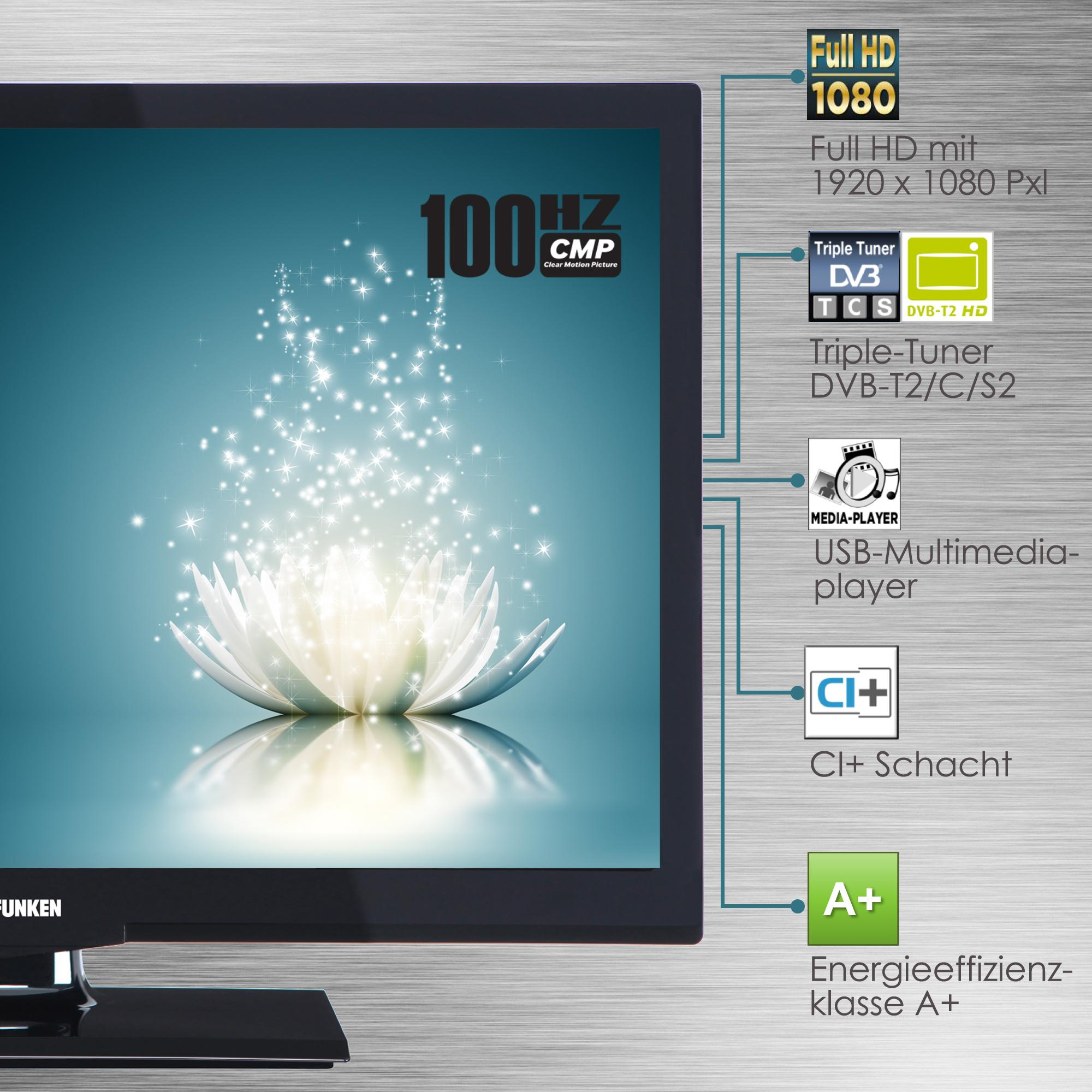 Telefunken XF22A101 56 cm (22 Zoll) Fernseher (Full HD