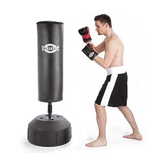 ultrasport 2in1 standboxsack freistehender boxsack 180 x. Black Bedroom Furniture Sets. Home Design Ideas