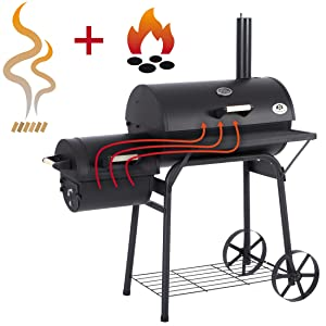 Ultranatura Smoker Grill Denver 2 Brennkammern *