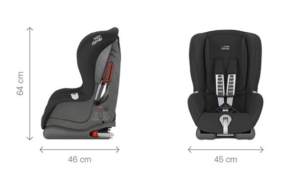 britax r mer autositz duo plus gruppe 1 9 18 kg kollektion 2017 storm grey baby. Black Bedroom Furniture Sets. Home Design Ideas