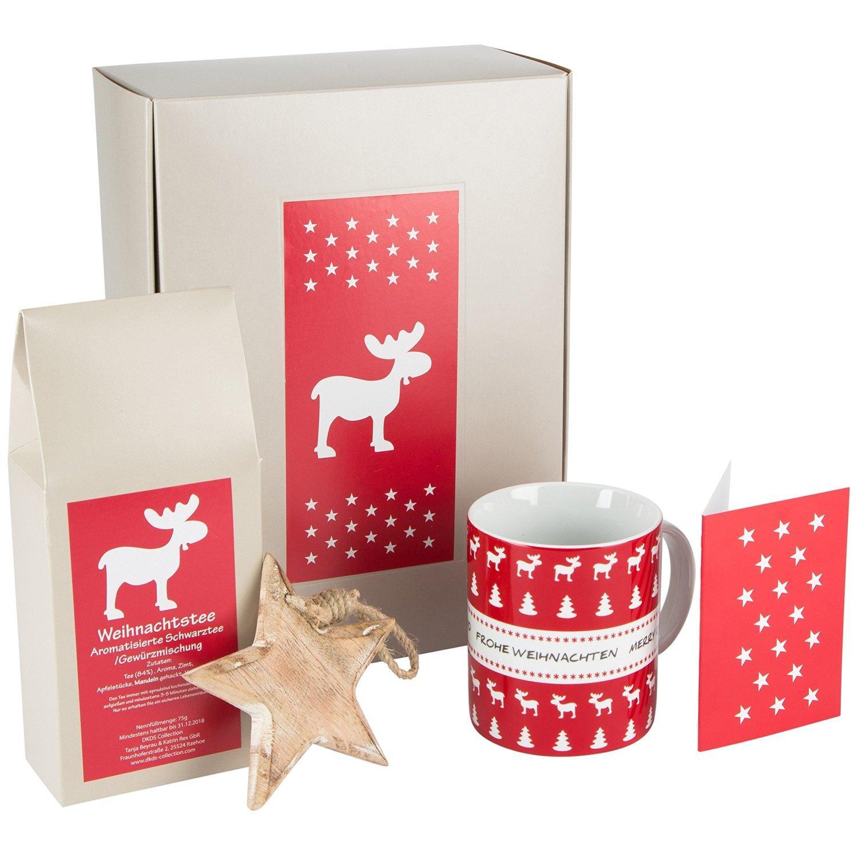 DKDS Collection to go-Geschenk Merry Christmas mit Weihnachtstee ...