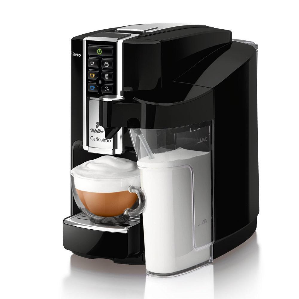 tchibo saeco cafissimo latte kapselmaschine 0 5 liter milchkaraffe 1 liter. Black Bedroom Furniture Sets. Home Design Ideas