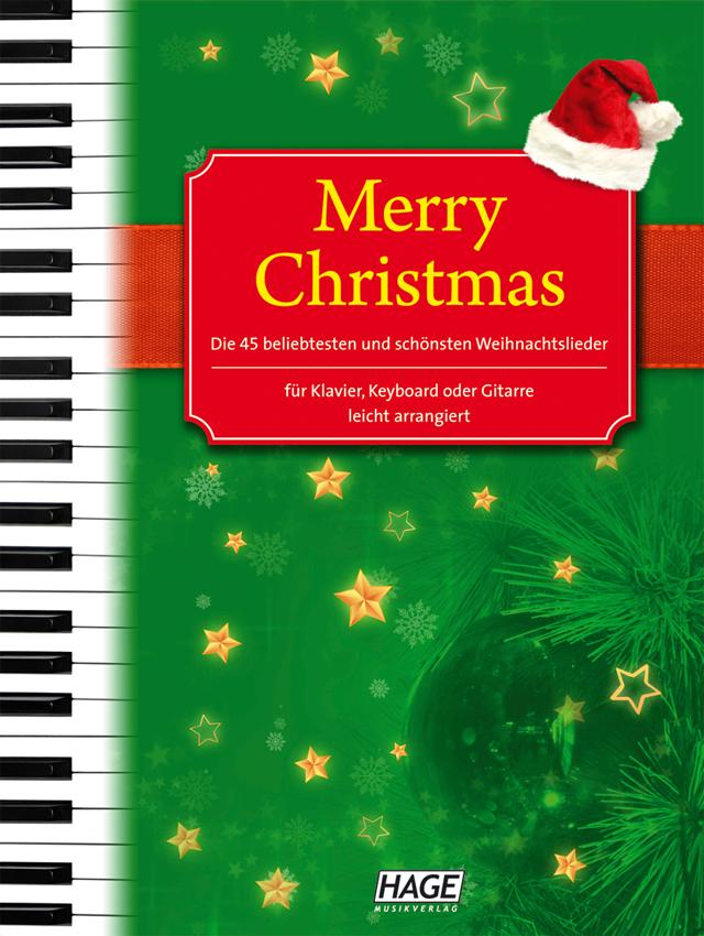 merry christmas f r klavier keyboard oder gitarre die 45. Black Bedroom Furniture Sets. Home Design Ideas