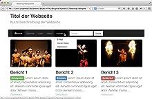 Website mit JavaScript
