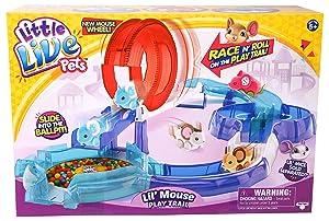 Little Live Pets Serie 2 L Il Mouse House Spielset Rosa Amazon De Spielzeug