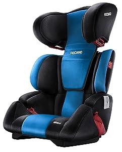 recaro milano autositz gruppe 2 3 15 36 kg black. Black Bedroom Furniture Sets. Home Design Ideas