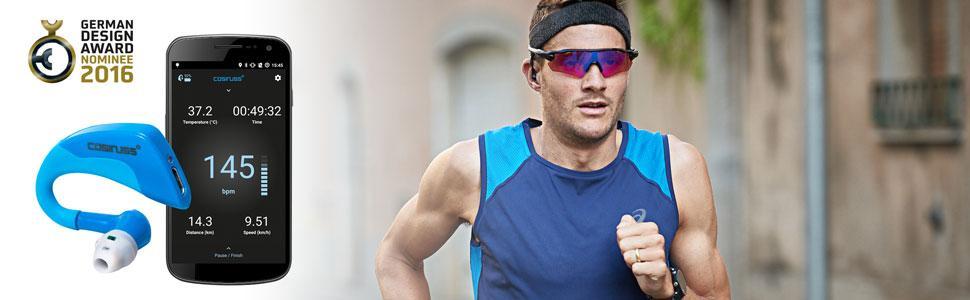 cosinuss One, der Pulsmess-Sensor für dein Ohr hilft dir die Signale deines Körpers besser zu verste