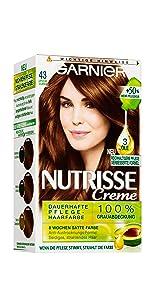 Garnier Nutrisse FarbSensation 4.15 Tiramisu Braun: Amazon