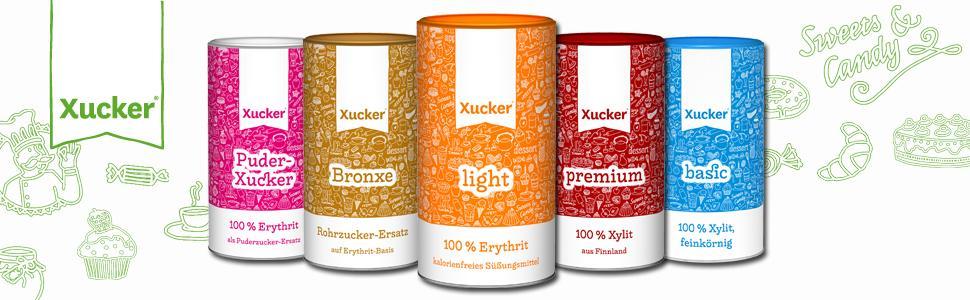 Xucker - Wir lieben Süßes ohne Zucker