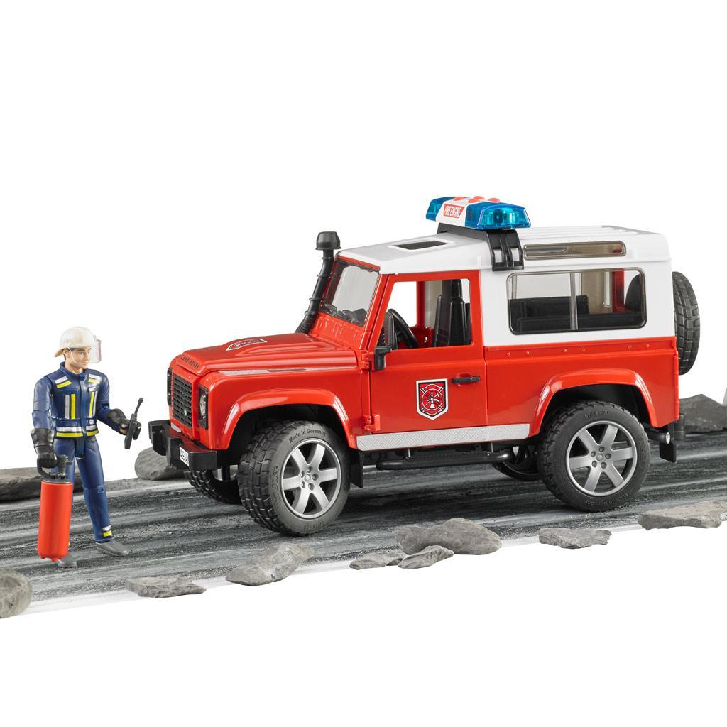 Bruder 02771 - MAN Feuerwehr mit Drehleiter, Wasserpumpe