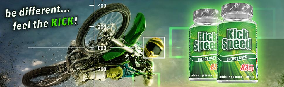 Kick Speed Energy Caps