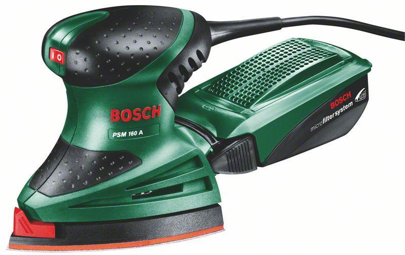 Top Bosch DIY Multischleifer PSM 160 A, 3 Schleifblätter, Karton (160  PB42