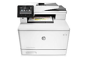 Hp Color Laserjet Pro M477fnw Farblaserdrucker Multifunktionsgerät Drucker Scanner Kopierer Fax Wlan Lan Eprint Airpint Usb 600 X 600 Dpi Weiß Elektronik