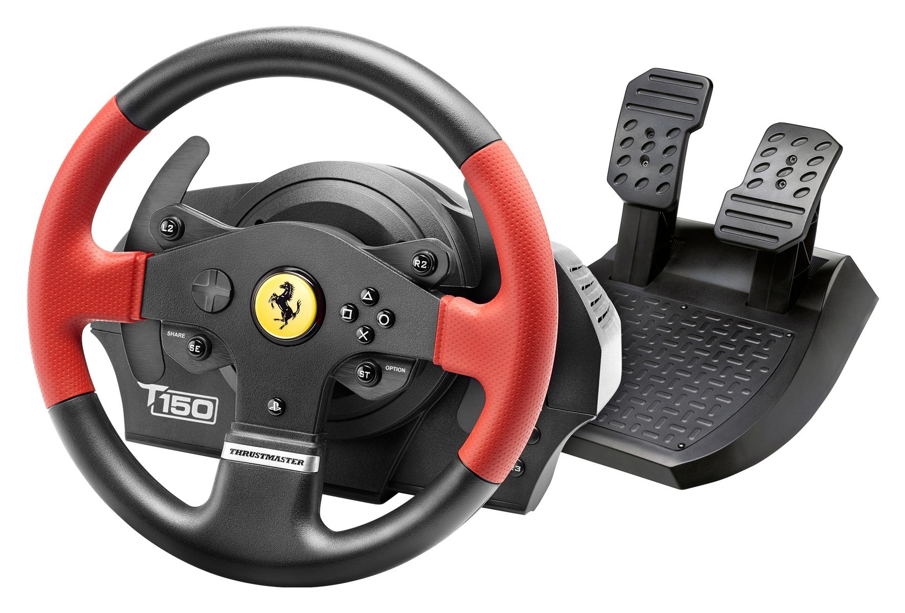 thrustmaster t150 ferrari edition lenkrad inkl 2. Black Bedroom Furniture Sets. Home Design Ideas