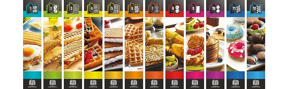 Amazon.de: Tefal SW852D Snack Collection Waffeleisen und