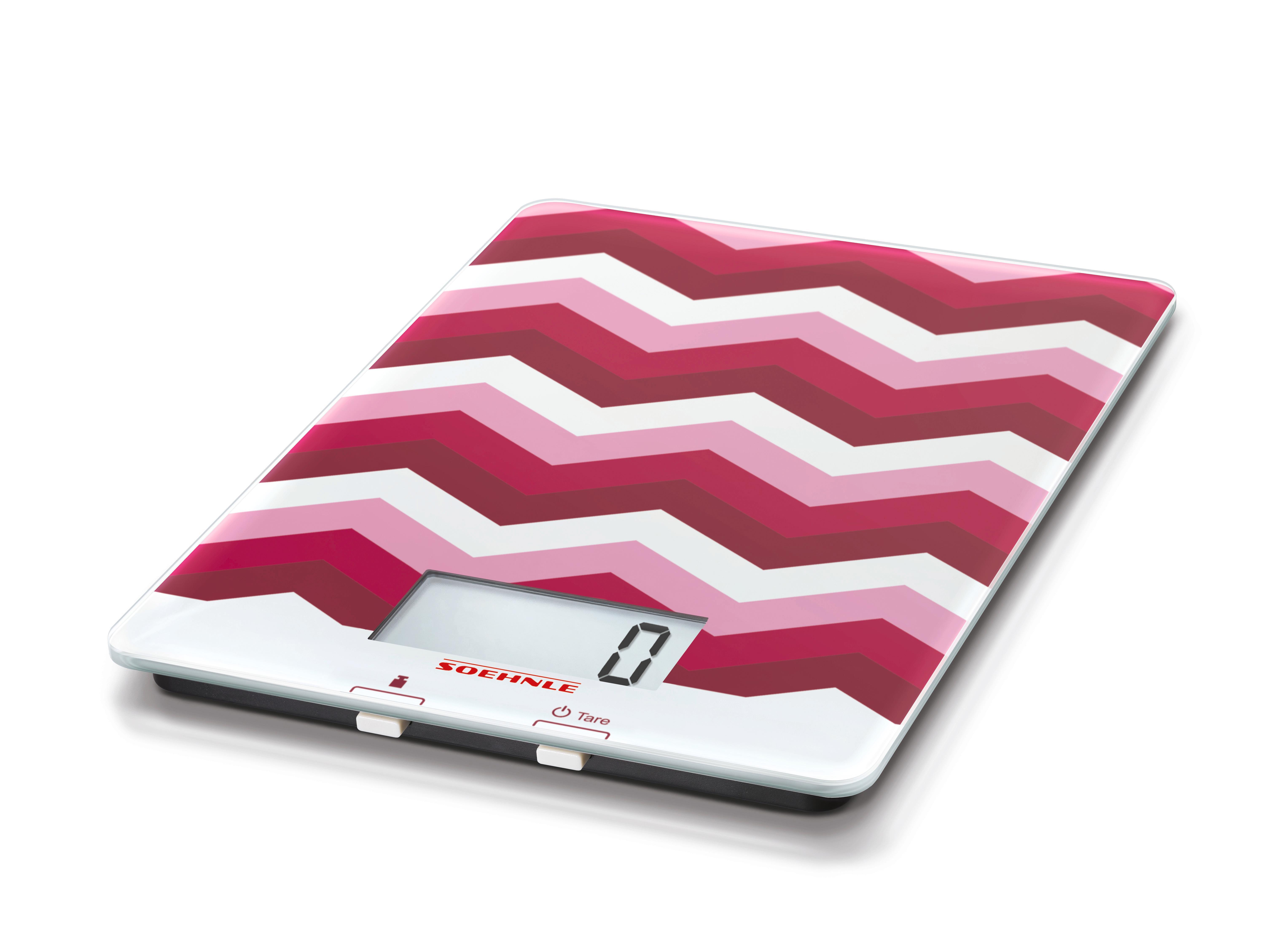 Soehnle 65860 Digitale Küchenwaage Purista Ruby Red: Amazon.de ...