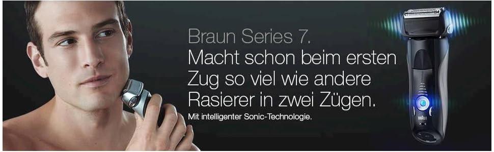 Braun Series 7 740s elektrischer Rasiere