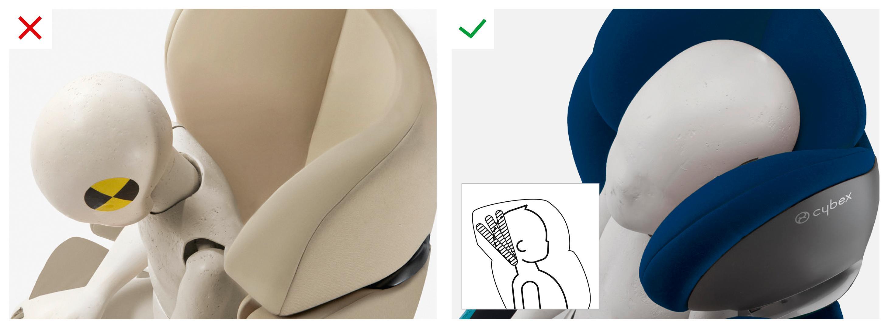 cybex gold solution m fix autositz gruppe 2 3 15 36 kg kollektion 2015 black beauty amazon. Black Bedroom Furniture Sets. Home Design Ideas