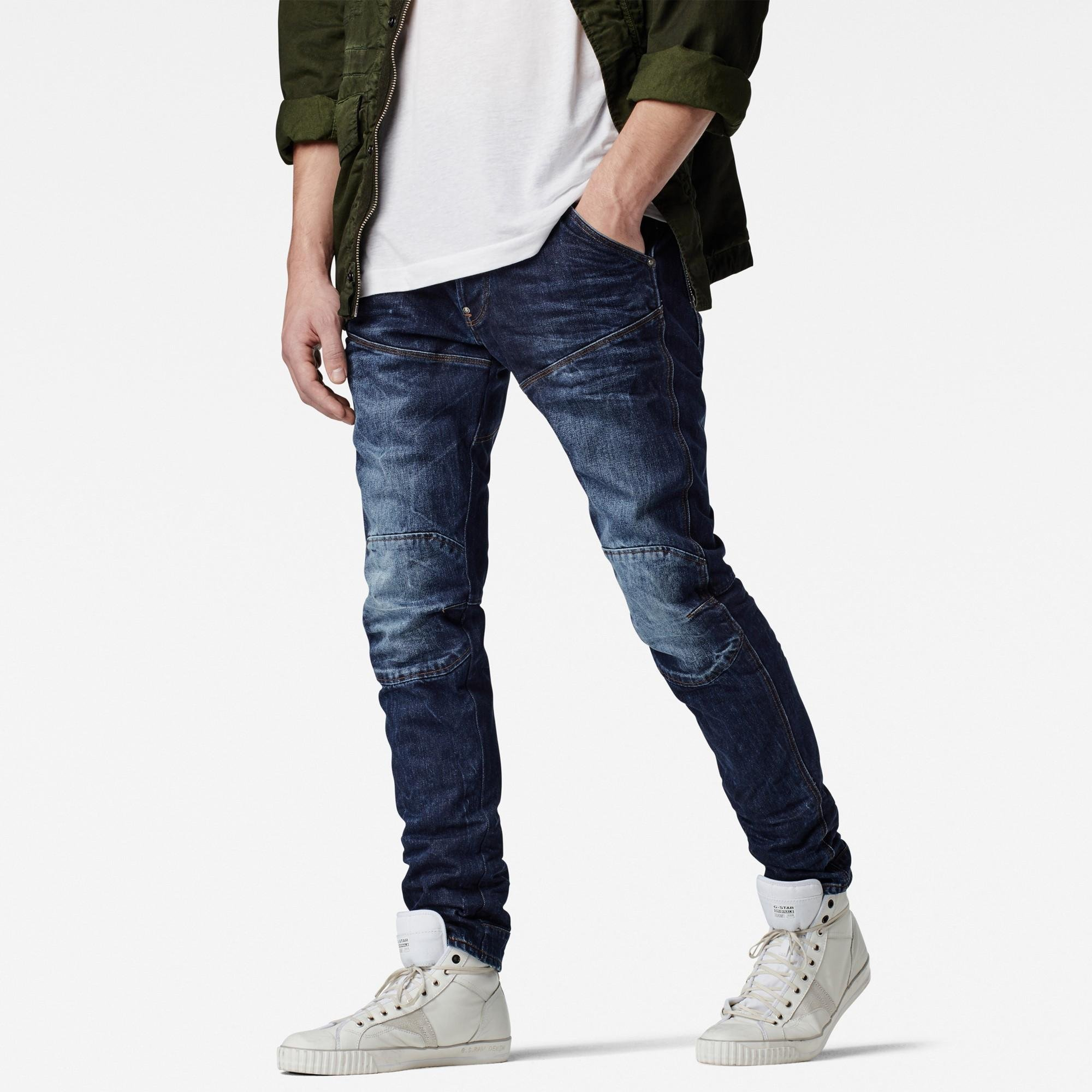 g star herren 5620 elwood 3d tapered jeans. Black Bedroom Furniture Sets. Home Design Ideas