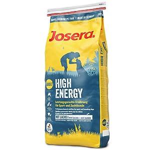 JOSERA High Energy Hundefutter 15 kg mit Reisverschluss