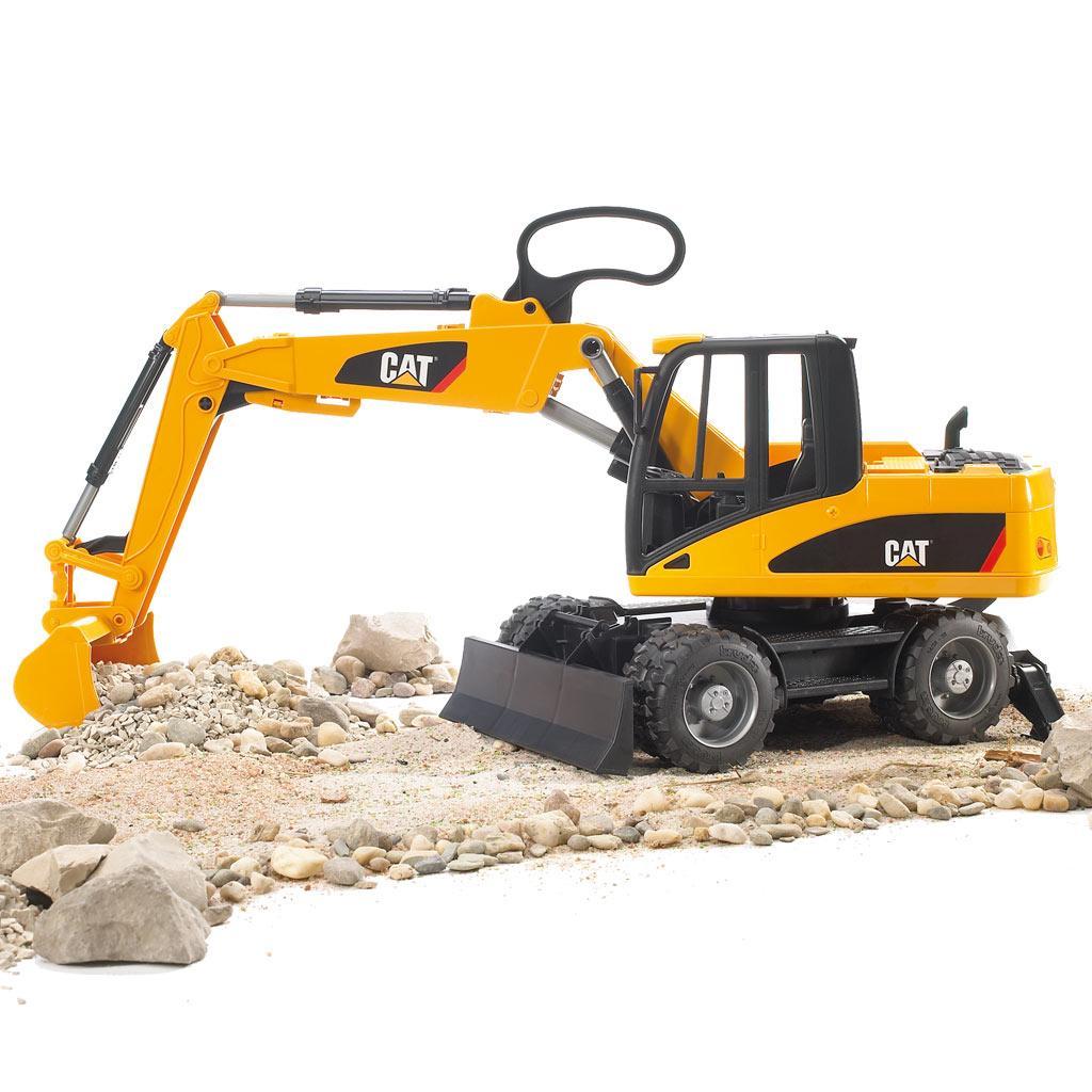 Bruder 02445 Profi-Serie CAT Mobilbagger günstig kaufen Spielzeug-Baufahrzeuge Bagger Spielzeug