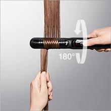 Brown Satin Hair 5 ST 570 Multi Hair Styler Hair Straightener with IONTEC Technology