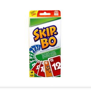 Mattel Skip-Bo Kartenspiel im Thekendisplay