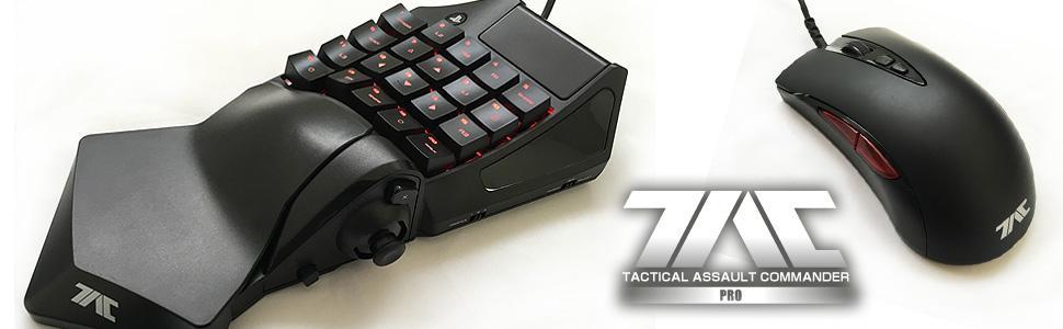PS4 T.A.C PRO (Mechanische Tastatur & Maus für PS4/PS3/PC